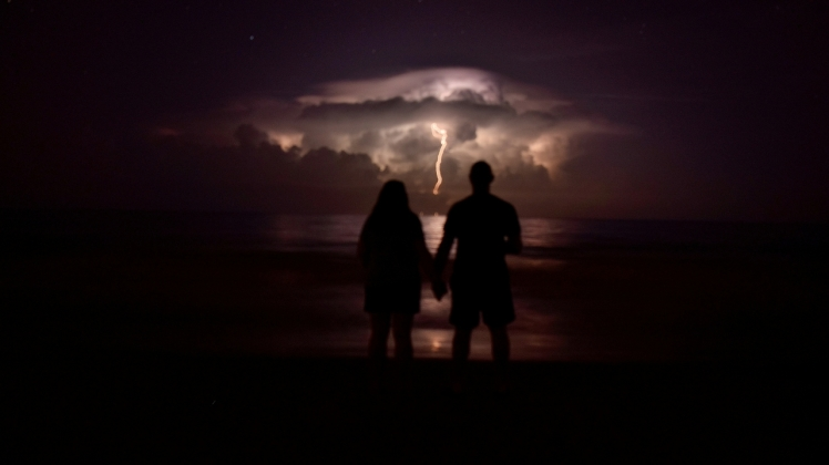 Lightning couple