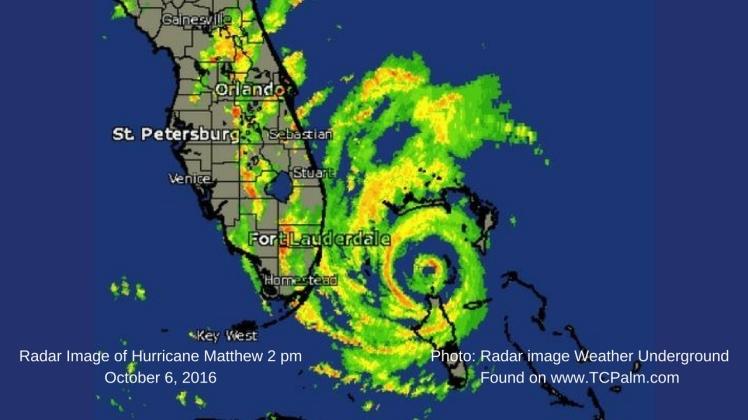 Photo- Radar image Weather Underground