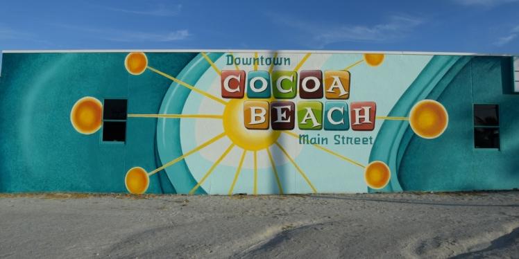 Cocoa Beach Mainstreet Mural