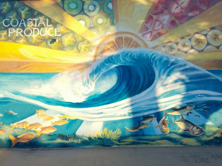Coastal Produce murals