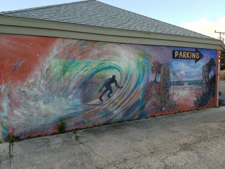 Cocoa Beach Brunos north wall