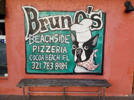 Cocoa Beach Brunos sign