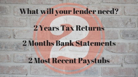 Bring to your lender