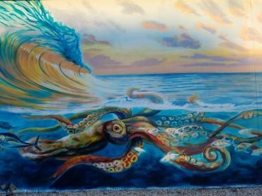 Cocoa Beach Jazzys Octopus