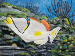 Fat Kahuna Cocoa Beach Mural Fish 1