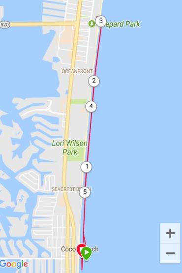 Minutemen to 520 Beach Run