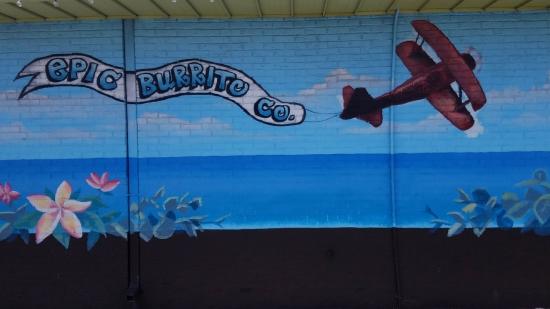 Cocoa Beach Insider Epic Burrito Plane