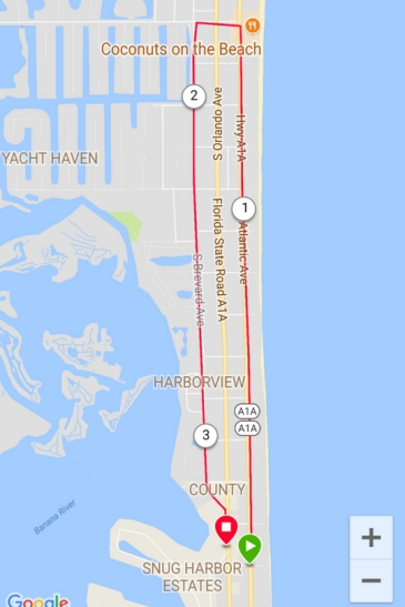 Minutemen to 13th St Cocoa Beach