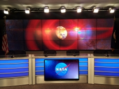 NASA Live TV Set