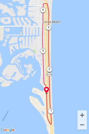 Triangle to Triangle Cocoa Beach