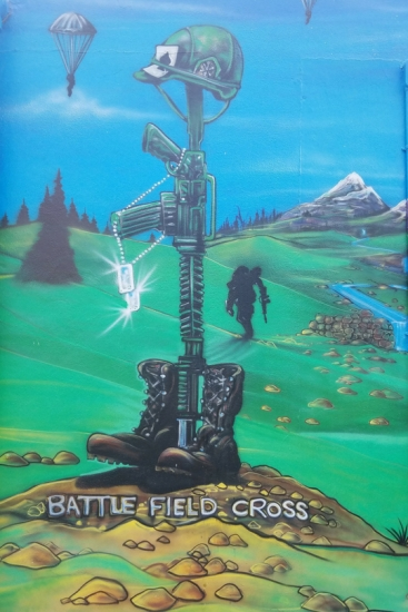 VFW 10131 Battlefield Cross