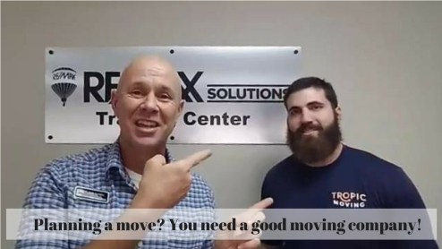 Planning a move_ You need a good moving company. Tropic Moving