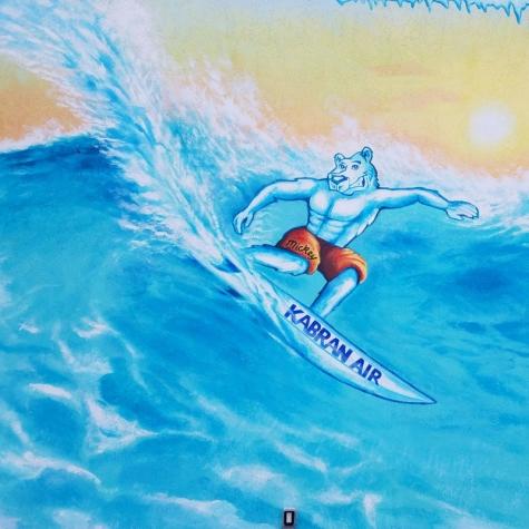 Kabran Surfing