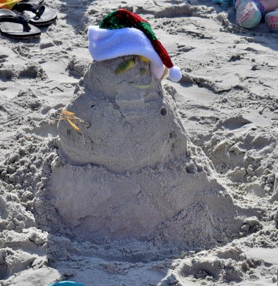 Sand Man Santa