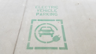 Electric vehicles can charge up