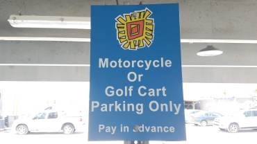 Motorcycles and Golf Carts are welcome!