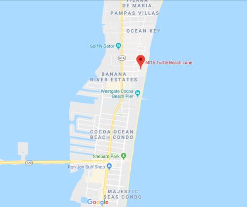 Google map view of Flores De La Costa