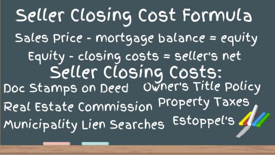Closing Cost Formula