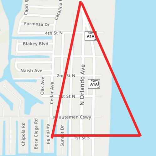 Barmuda Triangle Cocoa Beach