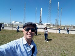 Yes, that is how close we could get to the Falcon 9