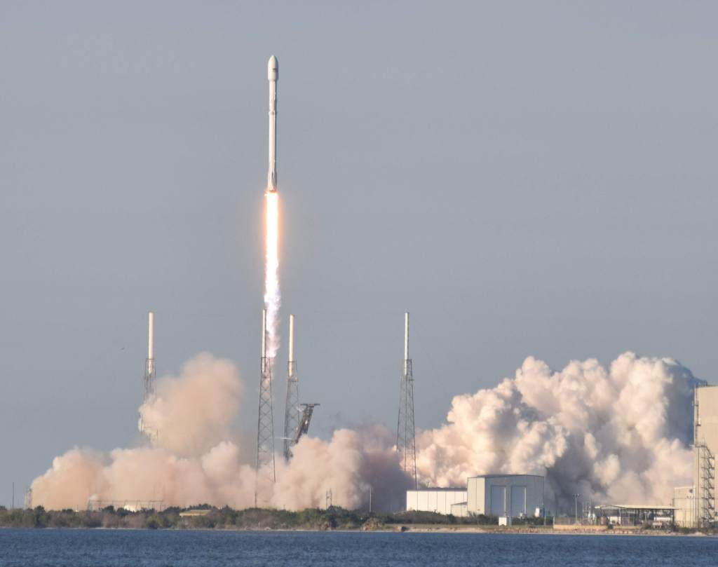 SpaceX Falcon9 launch of the TESS  Satellite