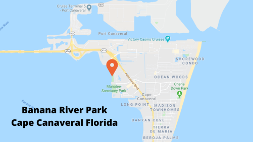 Google map view for Banana River Park Cape Cananveral