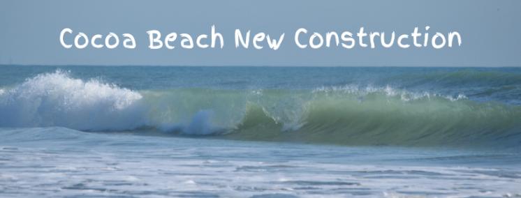 Wave breaking in Cocoa Beach Florida