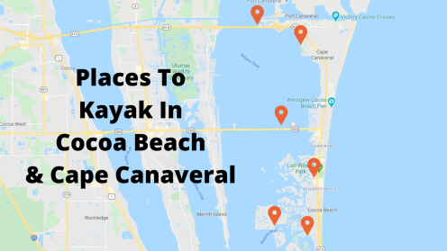 Places To Kayak In Cocoa Beach & Cape Canaveral